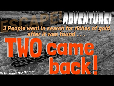 """Three left, """"Two Came Back"""" • Great post-war adventure from ESCAPE! • starring PAUL FREES"""