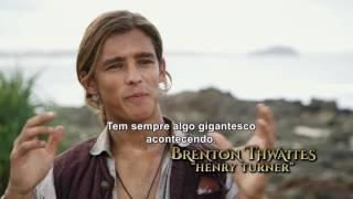 Piratas do Caribe 5 - A Vingança de Salazar - Bastidores HD Legendado