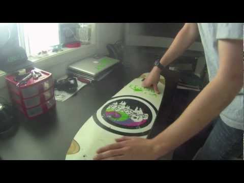 how to make a concave wakeskate