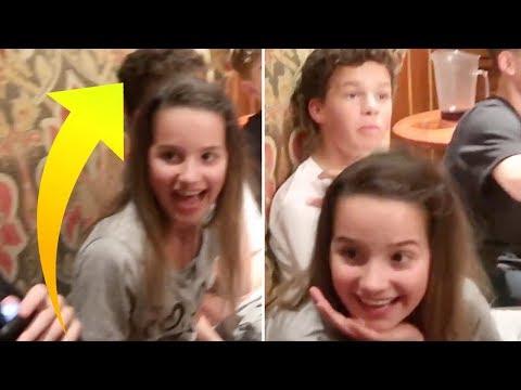 Hayden GETS CLOSE To Annie LeBlanc At Birthday Party