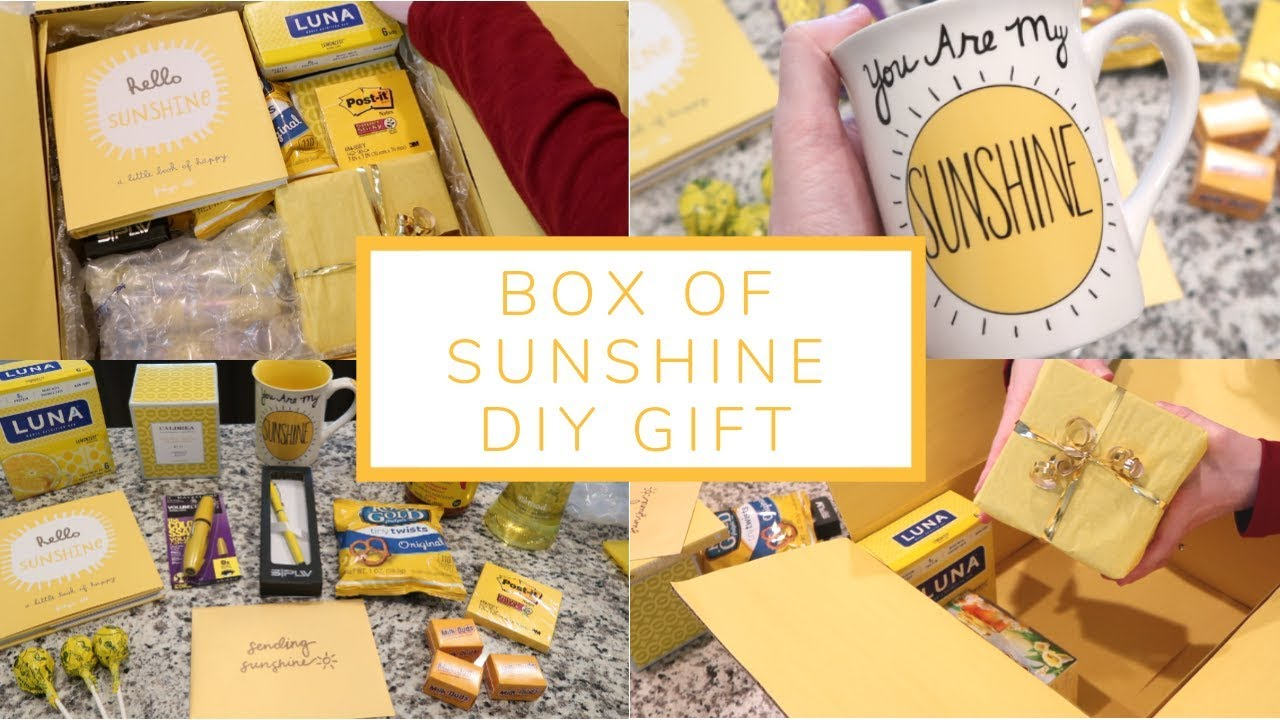 Box of Sunshine DIY Gift | Care Package