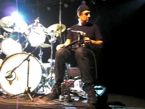 Dave LOMBARDO Slayer Grip Inc Philm Technique de double pedale Masterclass Romans 25 Nov 2014