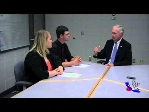 Teens Talk Politics - Interview with Ron Johnson