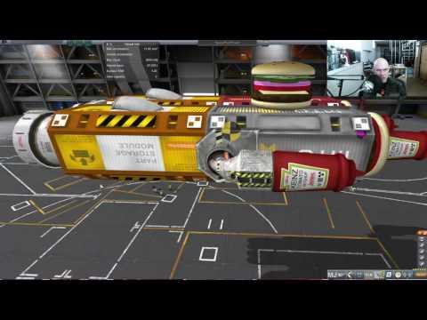 Kerbal Space Food Truck Build
