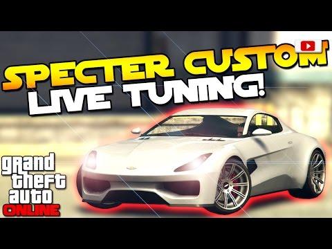 GTA 5 Online Import/Export Update: 🛠😲Dewbauchee Specter Custom Tuning!😲🛠 [Aston Martin DB10]