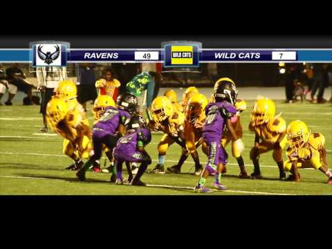 ravens vs wild cats (super peewee) playoffs