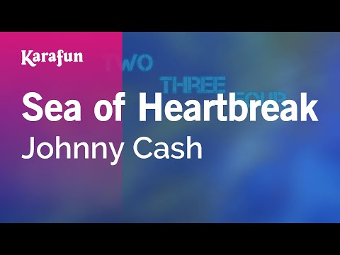 Karaoke Sea of Heartbreak - Johnny Cash *
