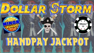 ⚡️DOLLAR STORM CARIBBEAN GOLD ⚡️HANDPAY & NICE SESSION ON NEW STYLE OF LIGHTNING LINK SLOT ⚡️