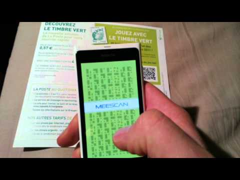 MeeScan demoed on White nokia N9 (French) - Nokians.fr