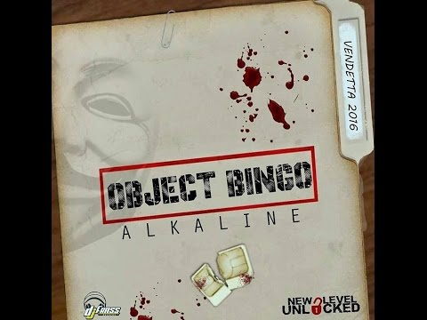 Alkaline - Object Bingo (Raw) Wild Wild West Riddim - September 2015