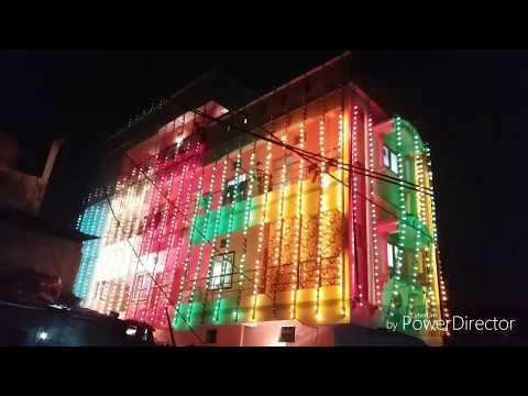 Unique light decoration in Indore.......