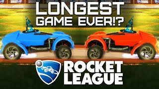 Rocket League - LONGEST GAME EVER? EPIC SAVE - PC ONLINE 3V3 Gameplay - Episode 5 | Pungence