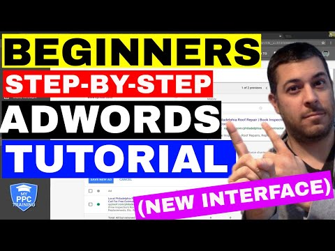 Google AdWords Tutorial 2018 🔥 (BEST) 🔥 Beginners Step-By-Step AdWords Campaign Setup