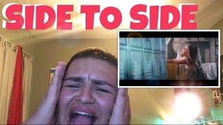 Ariana Grande - Side To Side (feat. Nicki Minaj) - Music Video- REACTION