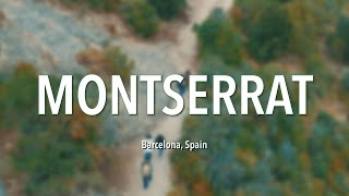 Travel video with Drone - Montserrat, Spain