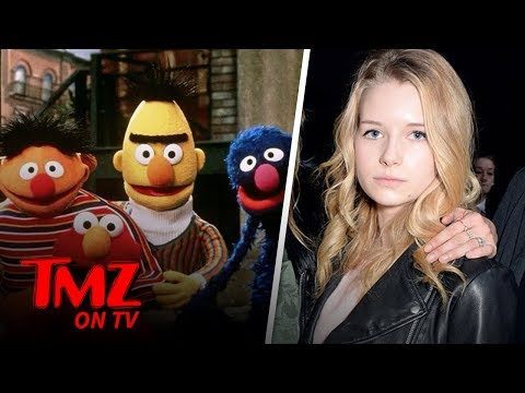 Model Lottie Weighs In On Viral Sesame Street Questions | TMZ TV