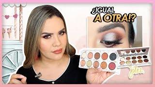 J´DEZ The eyes Cream Shop palette Demo , Look , comparación   Mytzi Cervantes