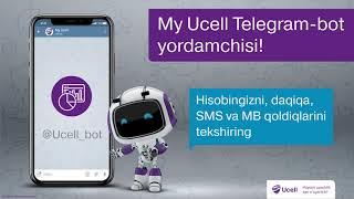 """Telegram-bot """"My Ucell"""""""