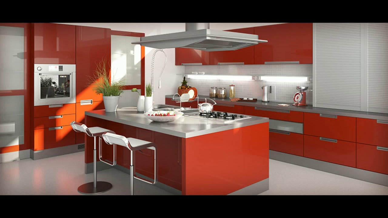 meuble de cuisine allemande youtube. Black Bedroom Furniture Sets. Home Design Ideas