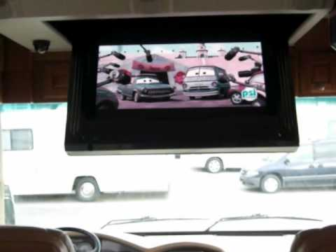 Truline Rv Ceiling Tv Lift Video Youtube