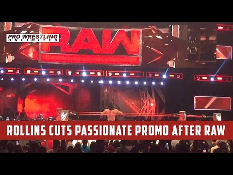 Seth Rollins Cuts Passionate Promo After RAW Following Brawl With Samoa Joe (VIDEO)