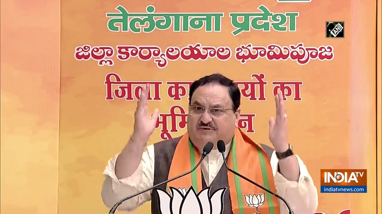 Telangana govt deprived its people by not implementing Ayushman Bharat: JP Nadda