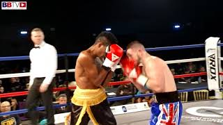 JAZZA DICKENS VS BARNIE ARGUELLES - BBTV - BLACK FLASH PROMOTIONS - BOWLERS ARENA 2/3/18