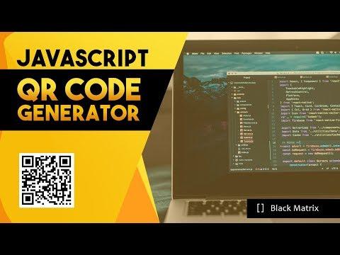javascript-tutorial:-how-to-generate-qr-code-using-javascript