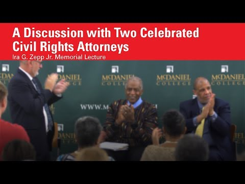 Zepp Lecture with C. Victor McTeer and James Bell | McDaniel College