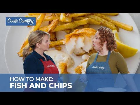 How To Make Restaurant-Quality Fish And Chips