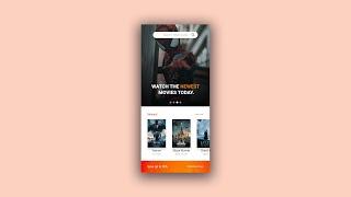 Мобільний додаток дизайн користувальницького інтерфейсу швидкість мистецтв #10 - відео-додаток [Додаток Adobe хD]
