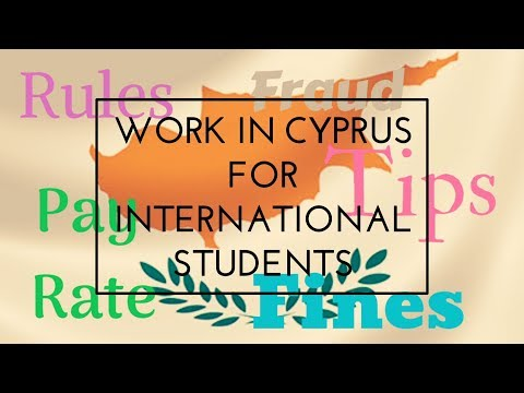 All about work in Cyprus for International Students