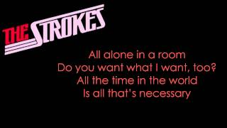 The Strokes - 'All The Time' HD Lyrics. New Single. Album: 'Comedow...