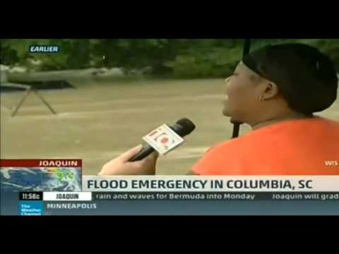 Columbia SC Horrific Flooding, I Saved My Totino's PIZZA during the flood
