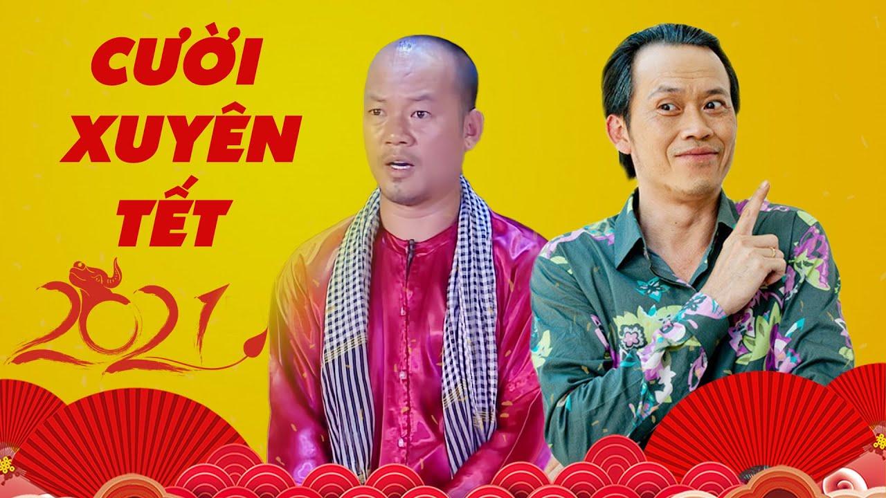 Hài Tết 2021 CƯỜI XUYÊN TẾT Cùng Hài Hoài Linh, Trường Giang, Long Đẹp Trai   Hài Việt Hay Nhất 2021