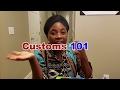 Customs 101: Bringing Food from Ghana