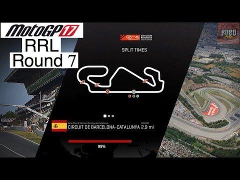 MotoGP 17 | League Racing (RRL) Round 7: Catalunya