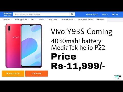 Vivo Y93S Coming Soon feature-price in India? launch date? Realme U1 killer?🔥