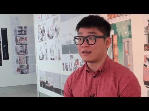 Meet Shiwen, a Singaporean student studying architecture at the University of South Australia