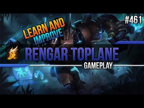 Rengar (Top): Learn and Improve #461 [League of Legends] [Deutsch / German]