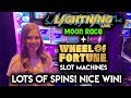 AWESOME RUN on $10/Spin Wheel of Fortune Slot Machine! Lots of Bonus Spins!