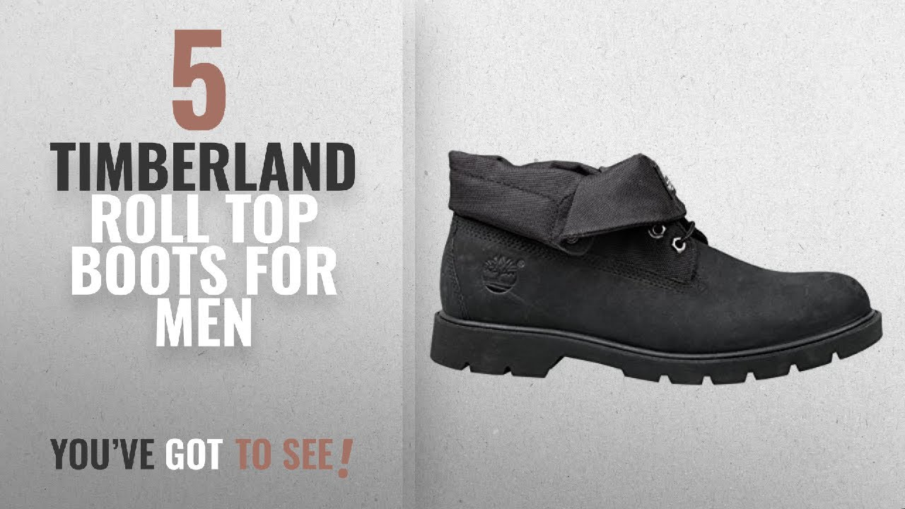 1218cf37543 Top 10 Timberland Roll Top Boots For Men [2018 ] | New & Popular 2018