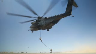 U.S. Marine Corps Fast Rope Exercise at MCAS Yuma
