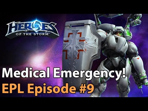 ► Heroes of the Storm Pro Gameplay: A Medical Emergency! EU Pro League #9
