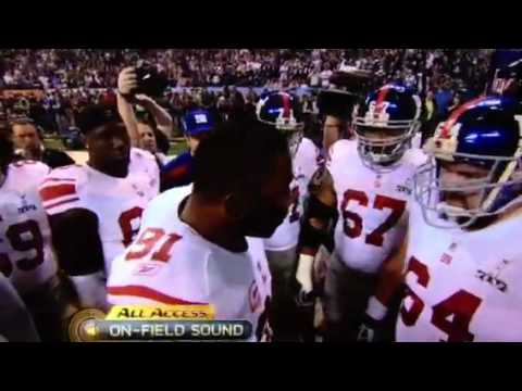 Justin Tuck Super Bowl Speech