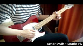 Taylor Swift 'Sparks Fly' Guitar cover【YUO】