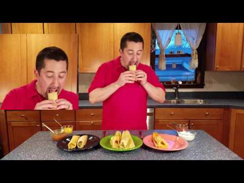 Wrong ways to eat a tamale!
