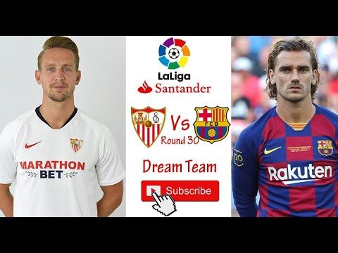 FC Barcelona Versus Sevilla Preview, Team News And Starting ...