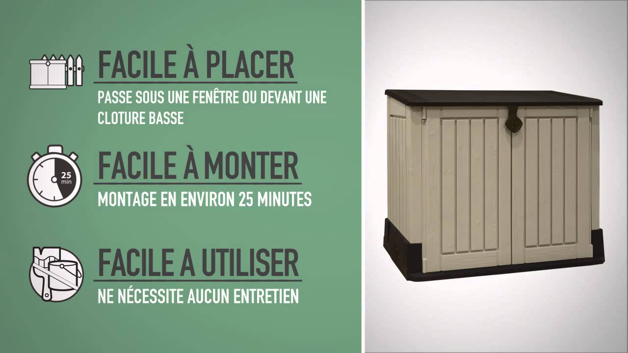 Keter Store-It-Out MIDI (FR) - YouTube