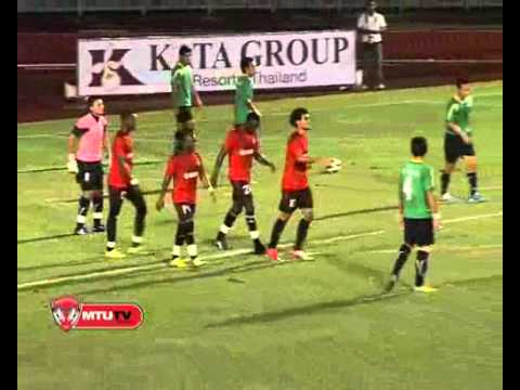 ภูเก็ต FC 2-3 เมืองทอง นัดแรก